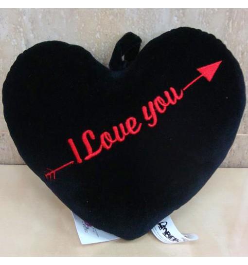 Corazón-peluche