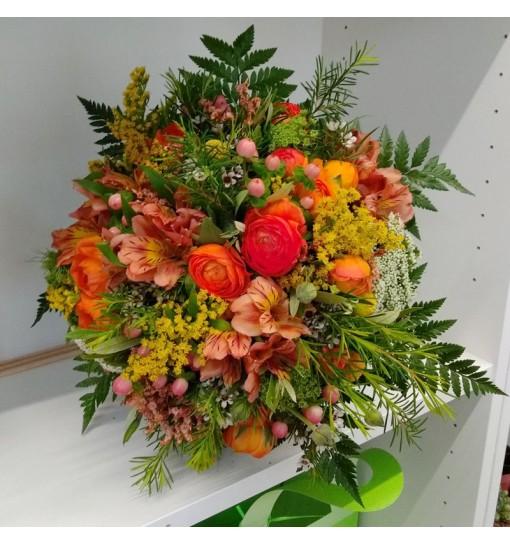 Ramo Alba silvestre con francesillas y flores del campo